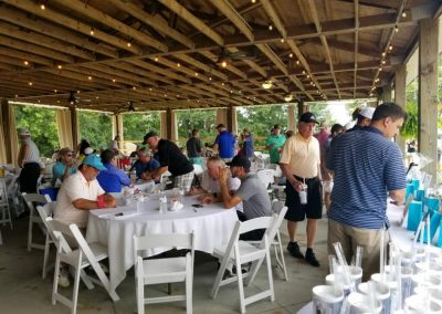 Golf 2021 Golfers gather for fellowship, lunch and raffles