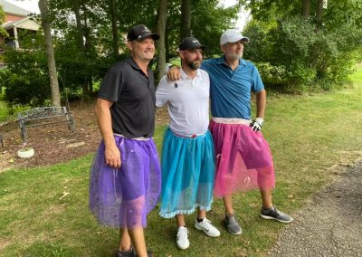 Golf 2021 Donning the skirt to hit from the women's tee
